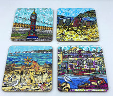 Four Caroline Tucker Coasters - Set 2