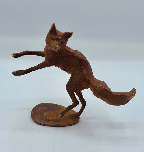 Fox Leaping