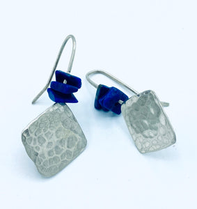 Diamond-shaped Dangler Earrings - Annie Baddiley