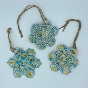 Hanging Glazed Flowers