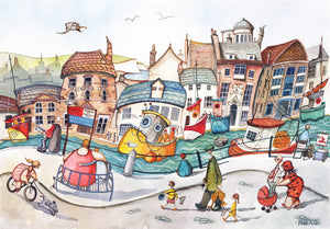 Weymouth Life 66x50cm (Limited Edition Print)