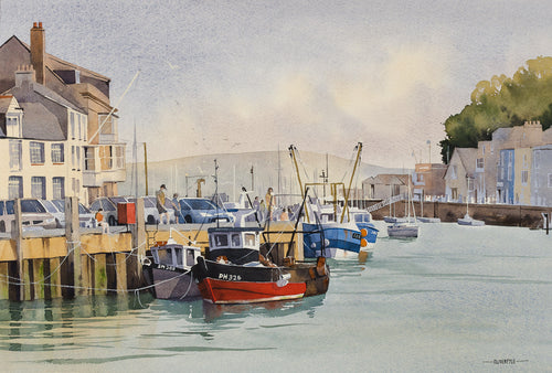 Catching Crabs, Weymouth