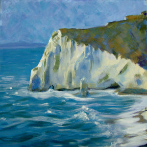 Dorset White Cliffs (Limited Edition Print)