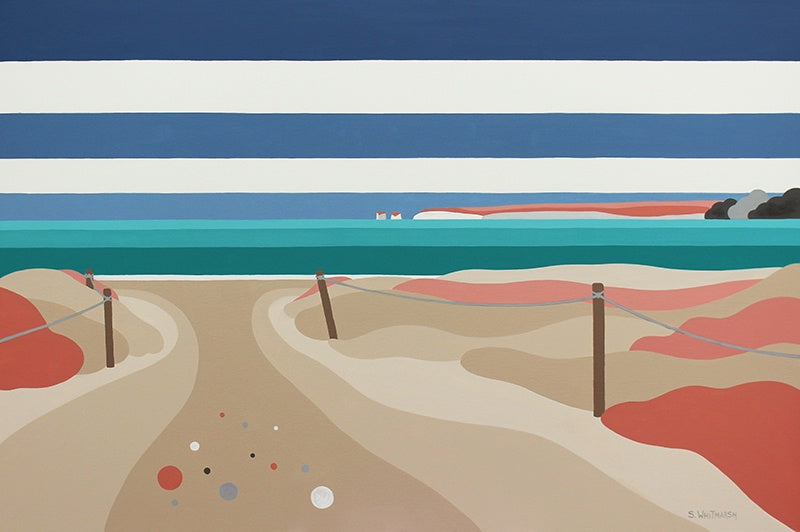 Studland Bay 60x42cm (Limited Edition Print)