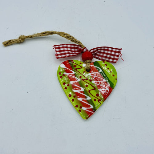 Ceramic Heart Hanger
