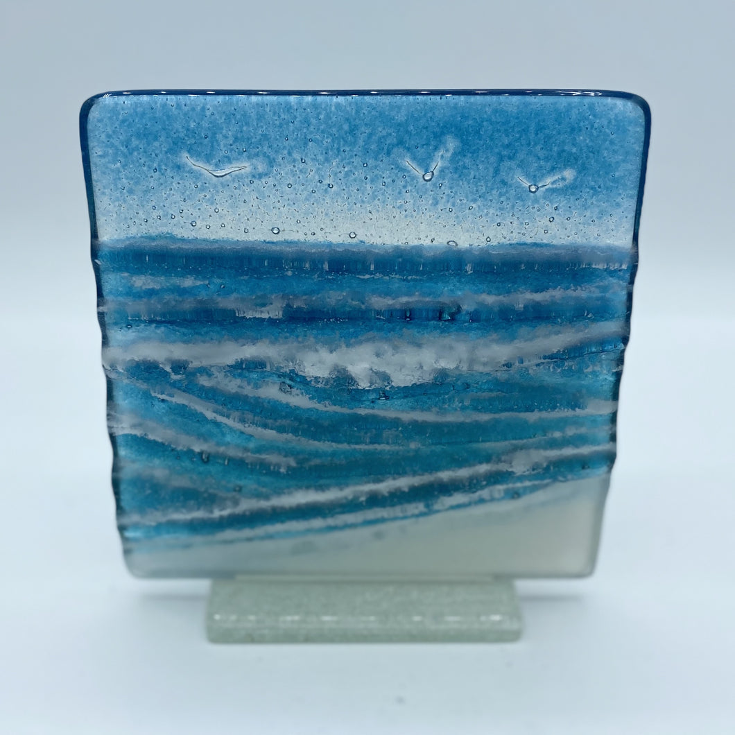 Freestanding Wave Panel (Square - Small)