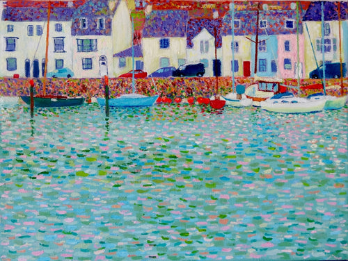 Little Boats & Fishing Floats (Limited Edition Print)