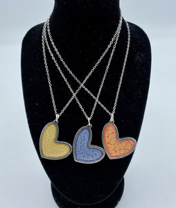 Necklace - Medium (Round/Heart) - Jo Thomas