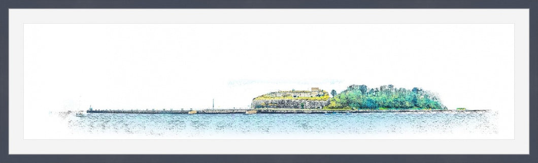 Nothe Fort (Framed)