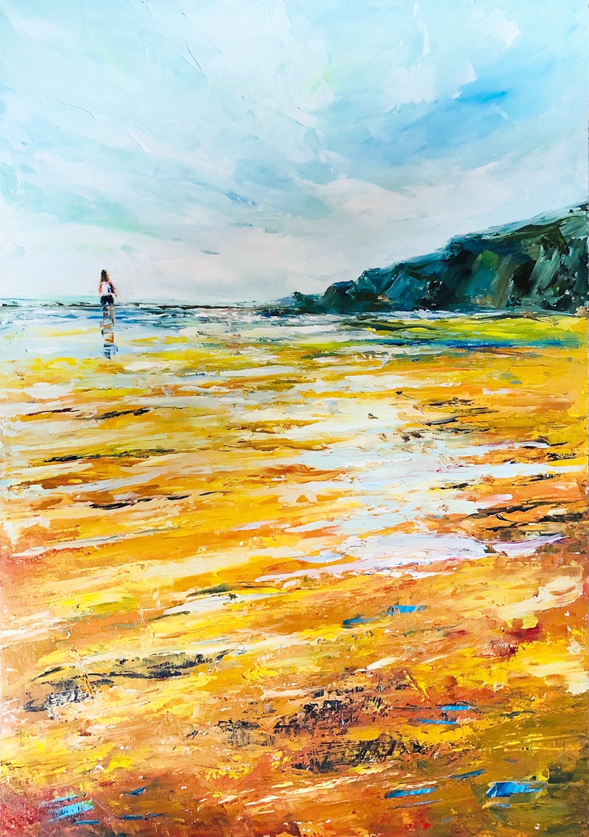 Walking into the Sea (Limited Edition Print)