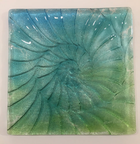Ammonite Square Wall Panel - Small