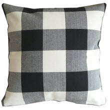 Farmhouse Plaid Pillow Cover