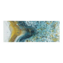 Shattering Rock Yellow Heavy Gel Coated Canvas
