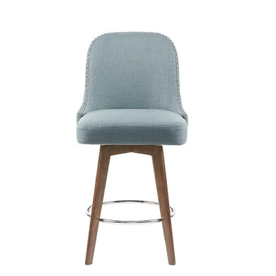 Madison Park Heyes Counter Stool, Blue