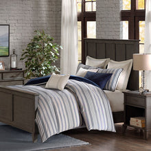 Madison Park Signature - Farmhouse Comforter Set - Blue