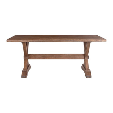Farmhouse Trestle Table - MDH Posh Interiors and Design