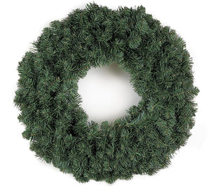 Faux Sherwood Spruce Wreath