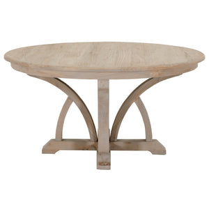 "Carnegie Smoke Gray Elm 60"" Round Dining Table by Orient Express - Brown, from MDH Posh Interiors and Design Home Store"