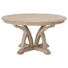 "Carnegie Smoke Gray Elm 60"" Round Dining Table by Orient Express"
