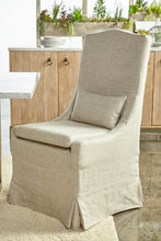 Colette Dining Chair in Bisque French Linen (Set of 2) - 6419UP.BIS