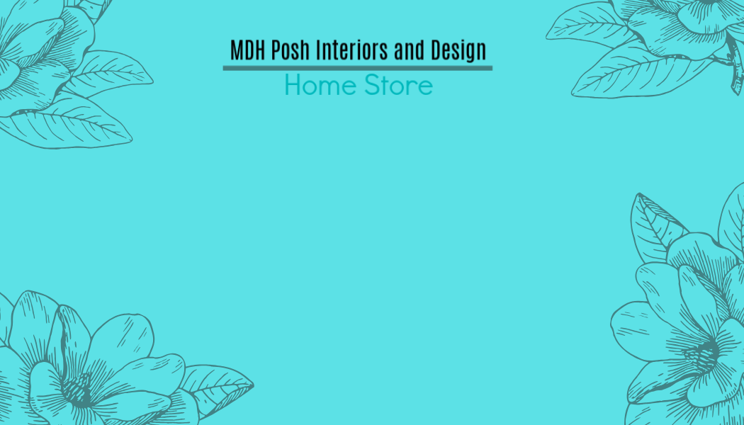 MDH Posh Interiors and Design Home Store Gift Card Turquoise