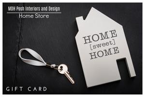 MDH Posh Interiors and Design Home Store Gift Card  New Home