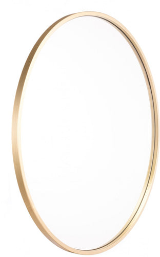 OVAL GOLD MIRROR LG GOLD