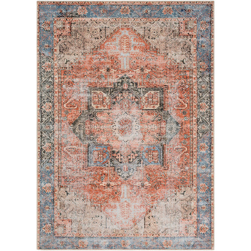 Surya AML2309-5373 5 ft. 3 in. x 7 ft. 3 in. Amelie Area Rug Rose
