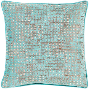 Surya Biming Aqua Pillow
