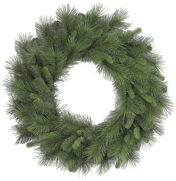 Faux Mixed Pine Wreath