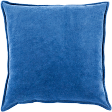 Dark Blue Velvet Pillow