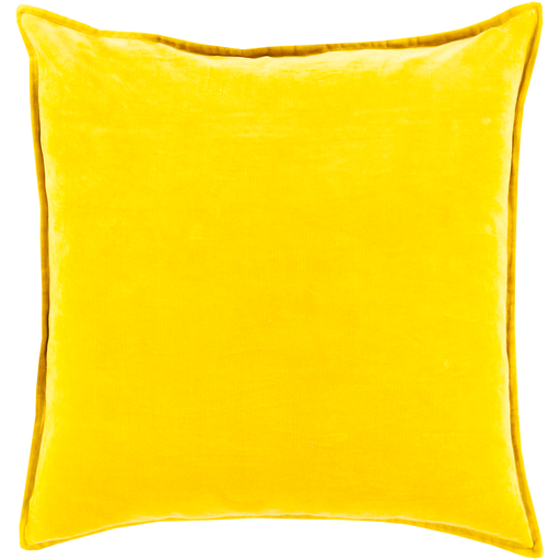 Mustard Yellow Velvet Pillow