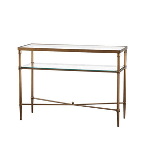 Porter Glass Console Table