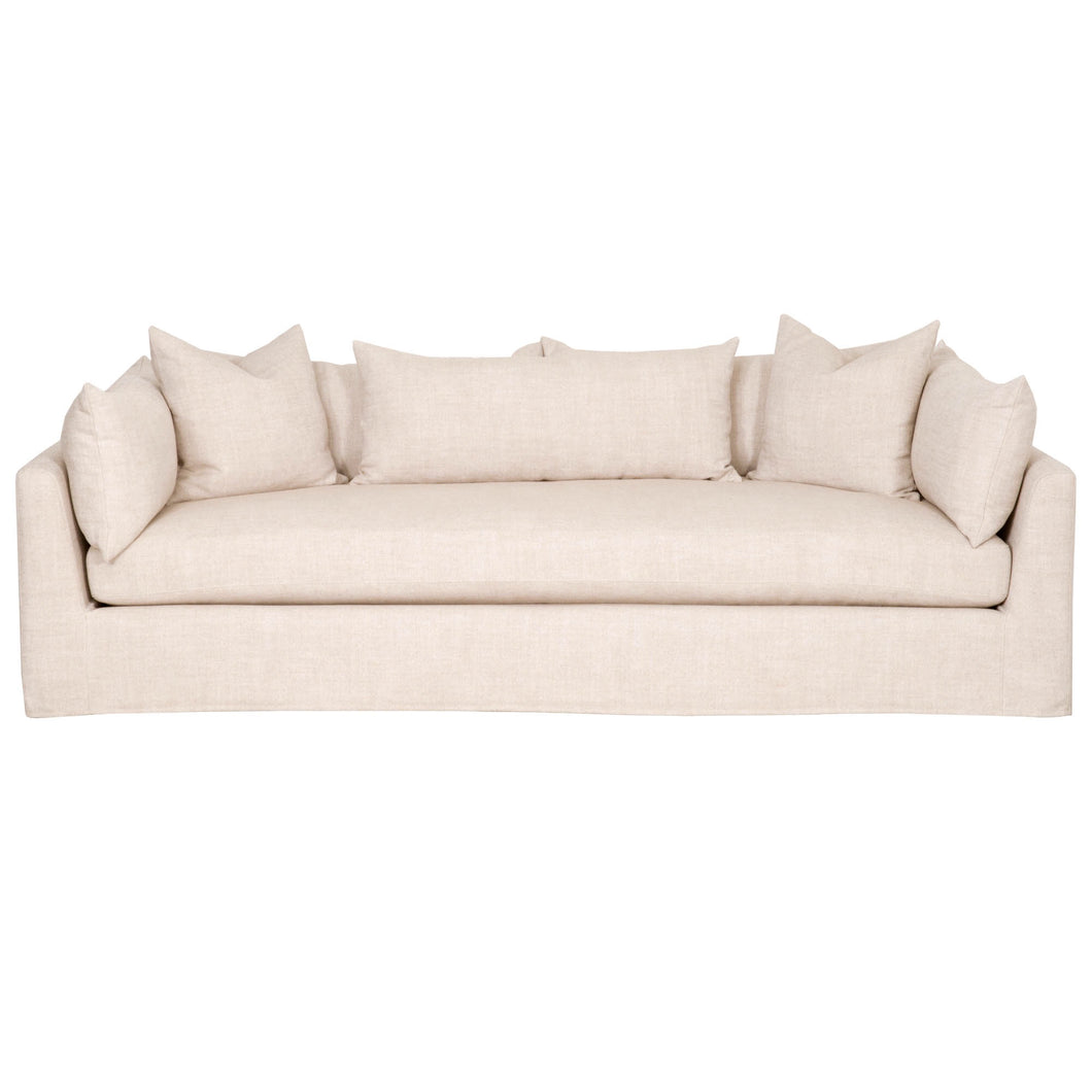 Orient Express Haven Espresso 95 inch Lounge Slipcover Sofa