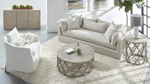 "HAVEN 95"" LOUNGE SLIPCOVER SOFA"