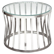 Capri Round Glass Top Table