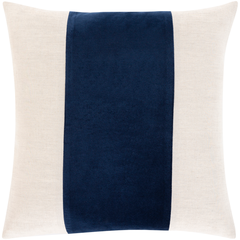 Navy Moza Pillow