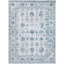 "Surya 7'10"" x 10'6"" Light Gray/Ivory/Navy Small Nova 