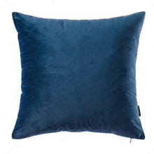 Navy Velvet Pillow Cover