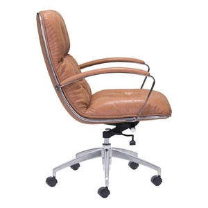 ZUO Avenue Office Chair Vintage Coffee