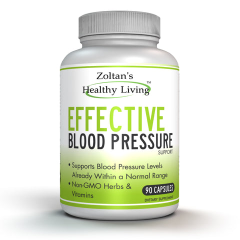 Effective Blood Pressure Support (90 Capsules).