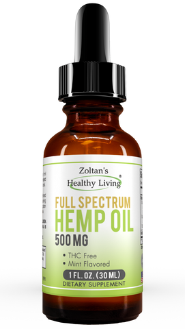 FULL SPECTRUM HEMP OIL 500 MG