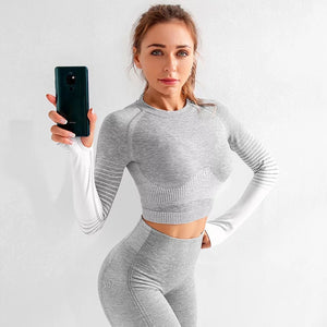 Seamless Fitness Gym Outfit