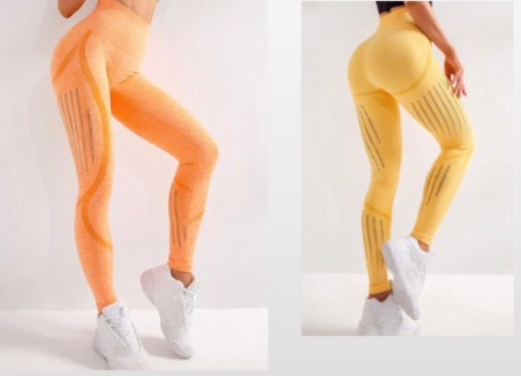 Seamless Fitness Stretch Leggings