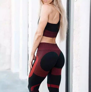 Fitness Gym Stretch Leggings