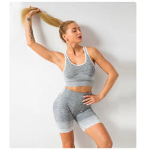 Load image into Gallery viewer, Fitness Spandex Gym Outfit