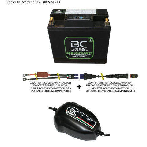 709BCS-51913 BC Starter Kit (include batteria BC51913-FP-I) - BC Battery Italian Official Website