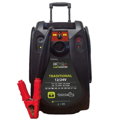 BC Jumpstarter Traditional 12/24V, Booster Professionale per Auto e Camion 5000A - BC Battery Italian Official Website