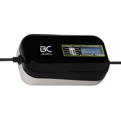 BC LITHIUM 7000 7A Caricabatteria e Mantenitore Digitale/LCD, Tester di Batteria - BC Battery Italian Official Website