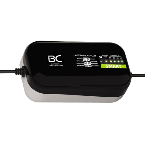 BC SMART 2000 DESIGN, 2 Amp, Caricabatteria e Mantenitore Intelligente per tutte le Batterie Auto e Moto 12V Piombo-Acido - BC Battery Italian Official Website